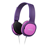 Philips SHK2000PK Pembe-Mor Kulak Üstü Kulaklık