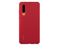 Huawei Elle P30 Kırmızı Silikon Kılıf