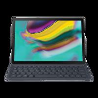 Samsung Galaxy Tab S5E EJ-FT720BB Türkçe Klavyeli Tablet Kılıfı Siyah
