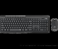 Logitech MK295 Kablosuz Klavye & Mouse Seti Siyah