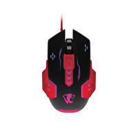 Preo My Game MG09 Kablolu Gaming Mouse Kırmızı Siyah + Mouse Pad Siyah
