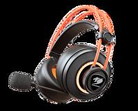 Cougar CGR-U50MB-710 Immersa Pro TI Gaming Kulaklık Siyah/Turuncu