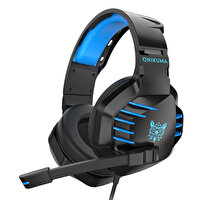 Onikuma K17 Gaming Kulaklık Siyah/Mavi