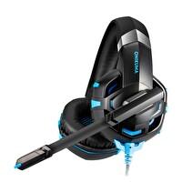 Onikuma K2 Pro With Led Gaming Kulaklık Siyah/Mavi