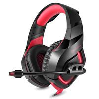 Onikuma K1B Pro Siyah/Kırmızı Gaming Kulaklık