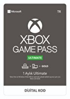 Microsoft ve Xbox Game Pass Ultimate - 1 Ay