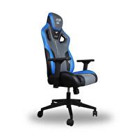 Adore E- Blue Cobra Pro Oyuncu Koltuğu EBC-312-GM-1 S.Deri-Koyu Gri-Mavi