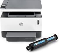 HP Neverstop Laser MFP 1200w + Fotokopi + Tarayıcı + Wifi + Airprint + Çok Fonksiyonlu Toner Doldurulabilir Tanklı Lazer Yazıcı 4RY26A