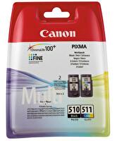 Canon Pg-510 + Cl-511 2 Li Paket Mürekkep Kartuş