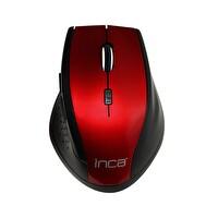 Inca Iwm-500Glk 2.4Ghz 800-1600Dpi Nano Laser Kablosuz Mouse (Kırmızı)