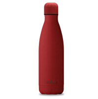 Puro Stainless Steel Icon Bottle Soft Touch Kırmızı 500ML