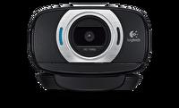 Logitech C615 HD Webcam-Siyah