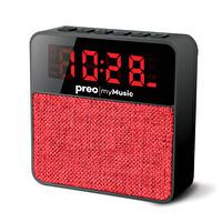 Preo My Music MM13 Kablosuz Saatli Speaker Kırmızı