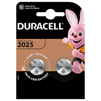 Duracell 2025 2 li 3Volt Düğme Pil