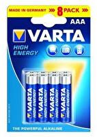 Varta High Energy AAA BLI 8 Mega