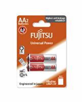 Fujitsu Universal Power LR06  2 li Blister Alkaline AA Kalem Pil