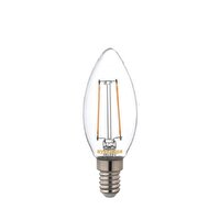 Sylvania E14 Led Mum Rustik Filament Lamba 4.5W Sarı Işık