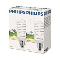 Philips Twister 23W E27 2700K Sarı Işık 2'li Ekopaket