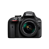 "Nikon D3400 18-55 AF-P Lens 24.2 Mp 3"" Lcd Ekran Dijital Slr Fotoğraf Makinesi"