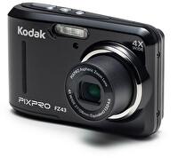 Kodak Pixpro FZ43 Siyah 16MP 4X Optik Zoom Dijital Fotoğraf Makinesi