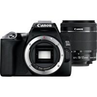 Canon EOS 250D 18-55MM DC III Siyah Dijital Fotoğraf Makinesi