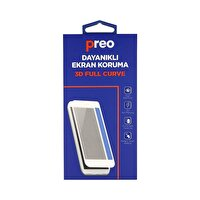 Preo Dayanaklı Ekran Koruma iPhone XS (Ön) Nano Premium