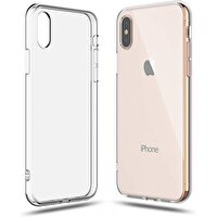 Preo Tpu Case Iphone XS Max Polikarbon Telefon Kılıfı Şeffaf