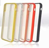 Preo Tpu Case Samsung Galaxy A10S Polikarbon Telefon Kılıfı Siyah Kenar