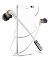 Cellularline Audiopro Mosquito Micro Beyaz Kulaklık - Apmosquıto2