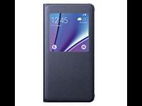 Samsung Galaxy Note 5 S-Wiev Cover Siyah Kılıf