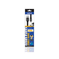 Sunix Sc-02 Safe Speed Double Sıde Siyah Micro Usb Kablo