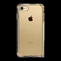 Ttec Chrome Clear Koruma Kapağı iPhone 7 Altın Sarısı Cep Telefonu Kılıfı