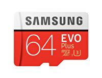 Samsung 64 GB Evo Plus Micro Sd Hafıza Kartı (Mb-Mc64Ga)