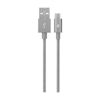 Ttec Alumicable Uzay Grisi Micro Usb Şarj Kablosu