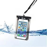 Celly SplashbaGBk Su Geçirmez Akıllı Telefon Kılıfı 5.7  Siyah