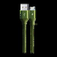 Ttec Alumicable iPhone Şarj Kablosu Haki Yeşili