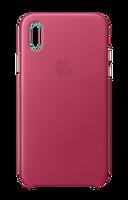 Apple MQTJ2ZM/A iPhone X Fuşya Deri Cep Telefonu Kılıfı