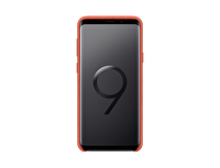 Samsung S9+ Alcantara Kılıf (Kırmızı)