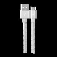 Ttec Alumicable Type-C Gümüş Şarj Kablosu