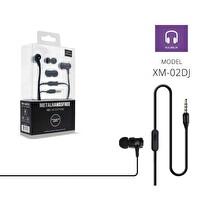 Powerway Pwr-Xm02Dj Siyah Extra Deep Bass Mikrofonlu Kulak İçi Kulaklık