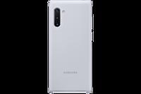 Samsung Galaxy Note 10 Silikon Kılıf - Gümüş Gri