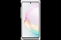 Samsung Galaxy Note 10+ Silikon Kılıf - Beyaz