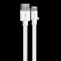 Ttec Type-C Usb 2.0 5A Huawei Supercharge Uyumlu Süper Hızlı Şarj Kablosu Uyumlu Beyaz