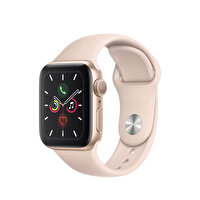 Apple Watch S5 40MM Gold Aluminium Case With Pink Sand Sport Band