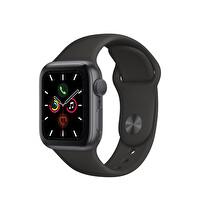 Apple Watch S5 GPS 40MM Space Grey Alüminyum Kasa Siyah Spor Kordon