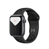 Apple Watch Nike Seri 5 40M Space Grey Alüminyum Kasa Siyah Nike Sport Kordon