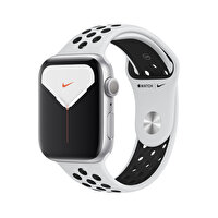 Apple Watch Nike Series 5 44MM Silver Alüminyum Kasa Platinum/Siyah Nike Spor Kordon