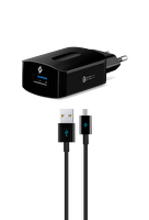 Ttec SpeedCharger QC 3.0 Seyahat Şarj Aleti + Micro USB Siyah Kablo