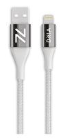 Dnia Soho White 1.2M Apple MFI Sertifikalı 12000+ Bükülme Testi Onaylı Yangına Dayanıklı Kablo