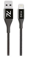 Dnia Soho Black 1.2M Apple MFI Sertifikalı 12000+ Bükülme Testi Onaylı Yangına Dayanıklı Kablo